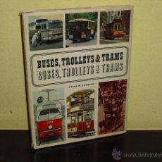 Coches y Motocicletas: BUSES, TROLLEYS & TRAMS - 1967 -. Lote 52907893