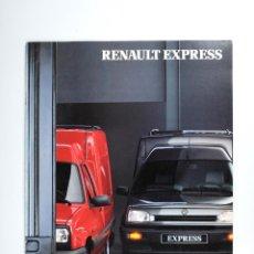 Coches y Motocicletas: CATALOGO RENAULT EXPRESS AÑO 1991. Lote 52961230