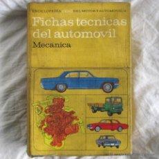 Coches y Motocicletas: FICHAS TÉCNICAS DE AUTOMOVIL MECÁNICA Nº 11 1965. Lote 53004911