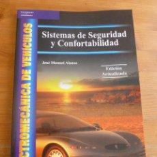 Coches y Motocicletas: SISTEMAS AUXILIARES DEL MOTOR. J.M. ALONSO. ELECTROMECANICA.PARANINFO. 1999 386 PP. Lote 53120009