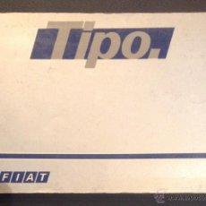 Coches y Motocicletas: MANUAL DE INSTRUCCIONES EMPLEO Y CUIDADO FIAT TIPO DE 1988. Lote 53153424
