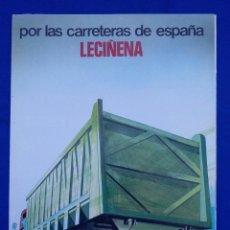 Coches y Motocicletas: FOLLETO DE SEMI-REMOLQUES DE LA EMPRESA LECIÑENA. Lote 53228728