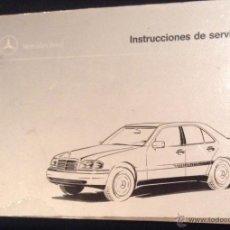 Coches y Motocicletas: MANUAL DE INSTRUCCIONES DE SERVICIO DE LA CLASE C MERCEDES-BENZ 1995. Lote 53284352
