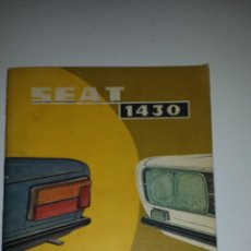 Coches y Motocicletas: SEAT 124. Lote 53288200