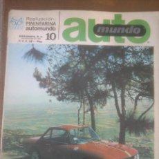 Coches y Motocicletas - automundo 10.año;1967 pininfarinal automovilismo - 53291279
