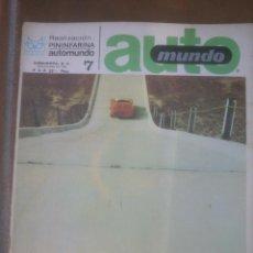 Coches y Motocicletas - automundo 7.año;1967 pininfarinal automovilismo - 53291283