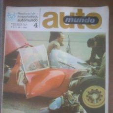 Coches y Motocicletas - automundo 4.año;1967 pininfarinal automovilismo - 53291285