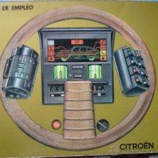 Coches y Motocicletas: MANUAL DE EMPLEO CITROEN GSA.1979.59 PG ILUSTRADO. Lote 53293113