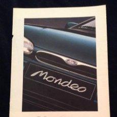 Coches y Motocicletas: FOLLETO CATALOGO PUBLICIDAD ORIGINAL NUEVO FORD MONDEO DE 1994. Lote 53300837