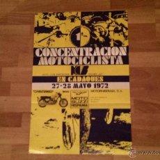 Coches y Motocicletas: 1 CONCENTRACION MOTOCICLISTA MOTO CLUB BARCELONA CADAQUES 1972 FALCONE 500 GUZZI. Lote 53373866