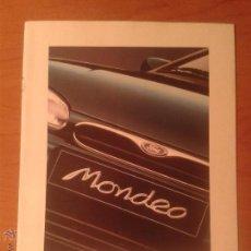 Coches y Motocicletas: FOLLETO FORD MONDEO PUBLICIDAD - CATALOGO DESPLEGABLE - 1994. Lote 53521840