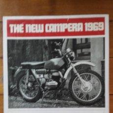 Coches y Motocicletas: BULTACO CATALOGO REPRODUCCION CAMPERA 1969. Lote 53574872