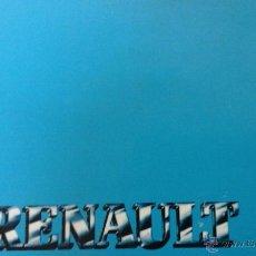 Coches y Motocicletas: RENAULT 9. MANUAL DEL USUARIO.1987. Lote 53594665
