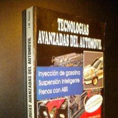 Coches y Motocicletas: TECNOLOGIAS AVANZADAS DEL AUTOMOVIL / JOSE MANUEL ALONSO / INYECCION DE GASOLINA, SUSPENSION, ABS. Lote 53632293