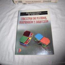 Coches y Motocicletas: CIRCUITOS DE FLUIDOS SUSPENSION Y DIRECCION.J.M.ALONSO.PARANINFO 1999.-5ª EDICION. Lote 53644989
