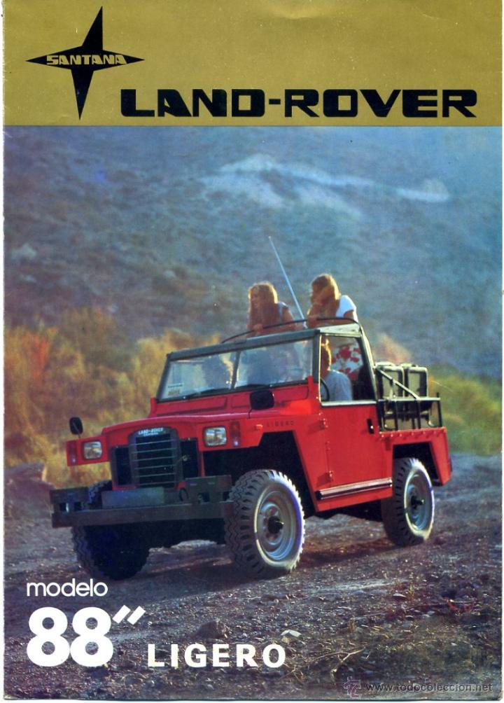catálogo land rover 88 tipo ligero año 1980. dí - verkauft durch
