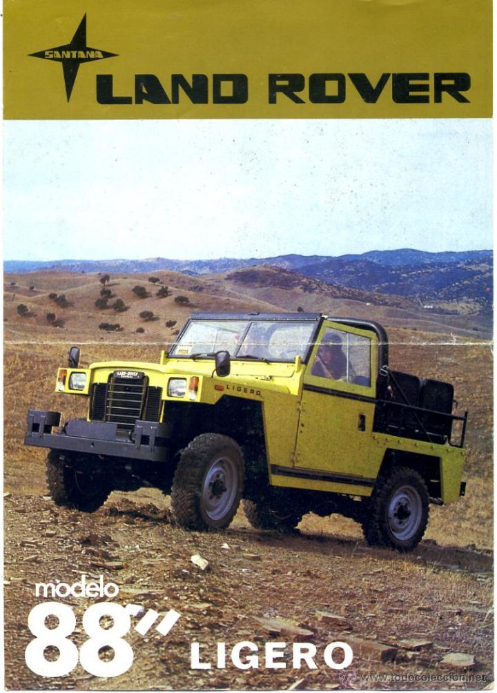 catálogo land rover 88 tipo ligero año 1980. im - verkauft durch