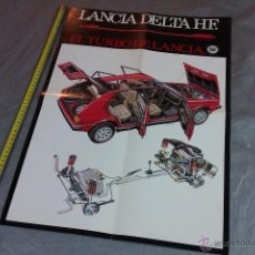 Coches y Motocicletas: POSTER LANCIA DELTA HF. Lote 53746570