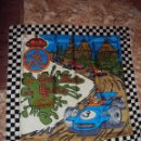 Coches y Motocicletas: (PUB-1301)PAÑUELO ORIGINAL GRAN PREMIO DE ESPAÑA DE FÓRMULA 1 DE 1971,DISPUTADO CIRCUITO DE MONTJUIH. Lote 117701708