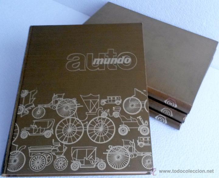 LIBRO AUTOMUNDO (4 TOMOS) (HISTÓRIA DE LAS PRINCIPALES MARCAS). (Coches y Motocicletas Antiguas y Clásicas - Catálogos, Publicidad y Libros de mecánica)