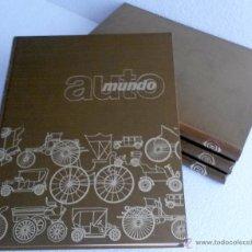 Coches y Motocicletas: LIBRO AUTOMUNDO (4 TOMOS) (HISTÓRIA DE LAS PRINCIPALES MARCAS).. Lote 53857094