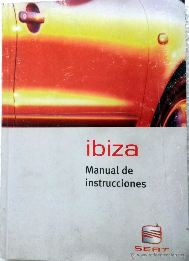 seat ibiza manual del propietario instrucci comprar cat logos rh todocoleccion net Seat Ibiza 2001 Seat Ibiza 2017