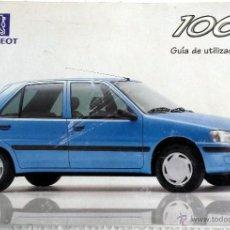 Coches y Motocicletas: PEUGEOT 106 - MANUAL DEL PROPIETARIO.. Lote 53902950