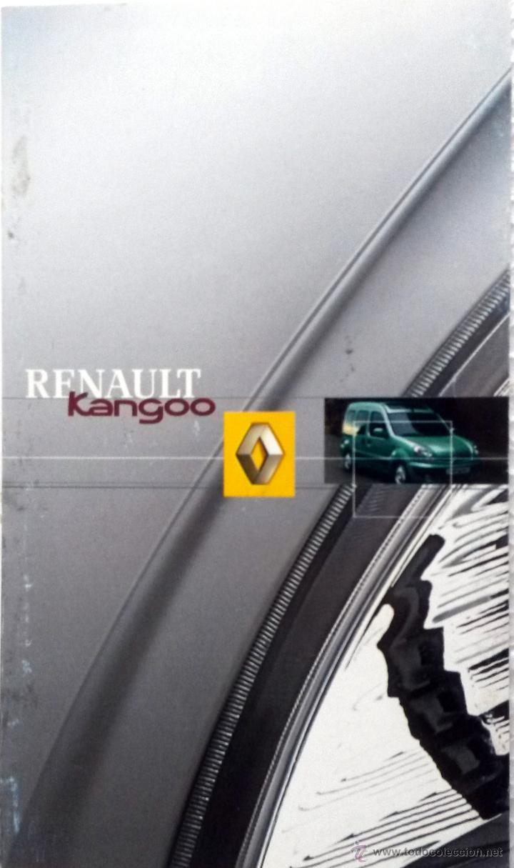 Coches y Motocicletas: RENAULT KANGOO - MANUAL DEL PROPIETARIO. + BREVE  RESUMEN. -