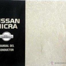 Coches y Motocicletas: NISSAN MICRA -MANUAL INSTRUCCIONES PROPIETARIO.. Lote 53904429