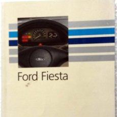 Coches y Motocicletas: FORD FIESTA - MANUAL DEL PROPIETARIO. + SUPLEMENTO.. Lote 53905072