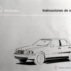 Coches y Motocicletas: MERCEDES CLASE C W-202 - MANUAL DEL PROPIETARIO - INSTRUCCIONES. Lote 53939267