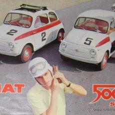 Coches y Motocicletas: HOJA PUBLICITARIA DE FIAT 500 SPORT ORIGINAL DE 1959.. Lote 53941396