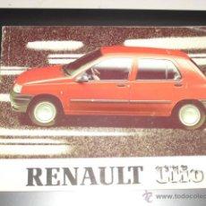 Coches y Motocicletas: RENAULT CLIO - MANUAL MANTENIMIENTO -. Lote 53982619