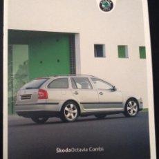 Coches y Motocicletas: FOLLETO CATALOGO PUBLICIDAD ORIGINAL SKODA OCTAVIA COMBI DE 2006 SKÖDA. Lote 54157536