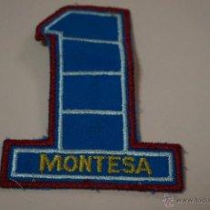 Coches y Motocicletas: ESCUDO DE MOTOS:MOTO MONTESA,DE TELA,HAZTE CON EL. Lote 54166333