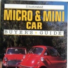 Coches y Motocicletas: LIBRO MICRO & MINI CAR - BUYER'S GUIDE.. Lote 54180268