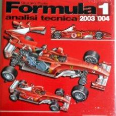 Coches y Motocicletas: LIBRO FORMULA 1 - ANALISI TECNICA 2003 / 2004. Lote 54181042