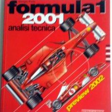 Coches y Motocicletas: LIBRO FORMULA 1 - ANALISI TECNICA 2001.. Lote 54181075