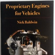 Coches y Motocicletas: LIBRO PROPRIETARY ENGINES FOR VEHICLES.. Lote 54181786