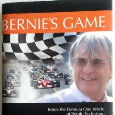 Coches y Motocicletas: LIBRO BERNIE'S GAME.. Lote 54182369