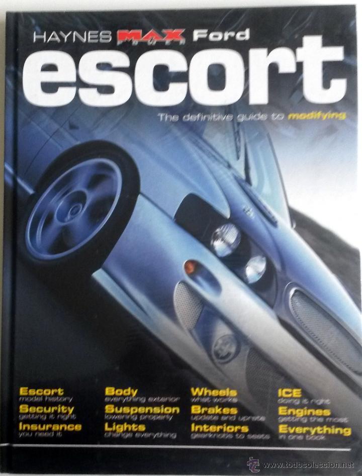 LIBRO FORD ESCORT -THE DEFINITIVE GUIDE. (Coches y Motocicletas Antiguas y Clásicas - Catálogos, Publicidad y Libros de mecánica)
