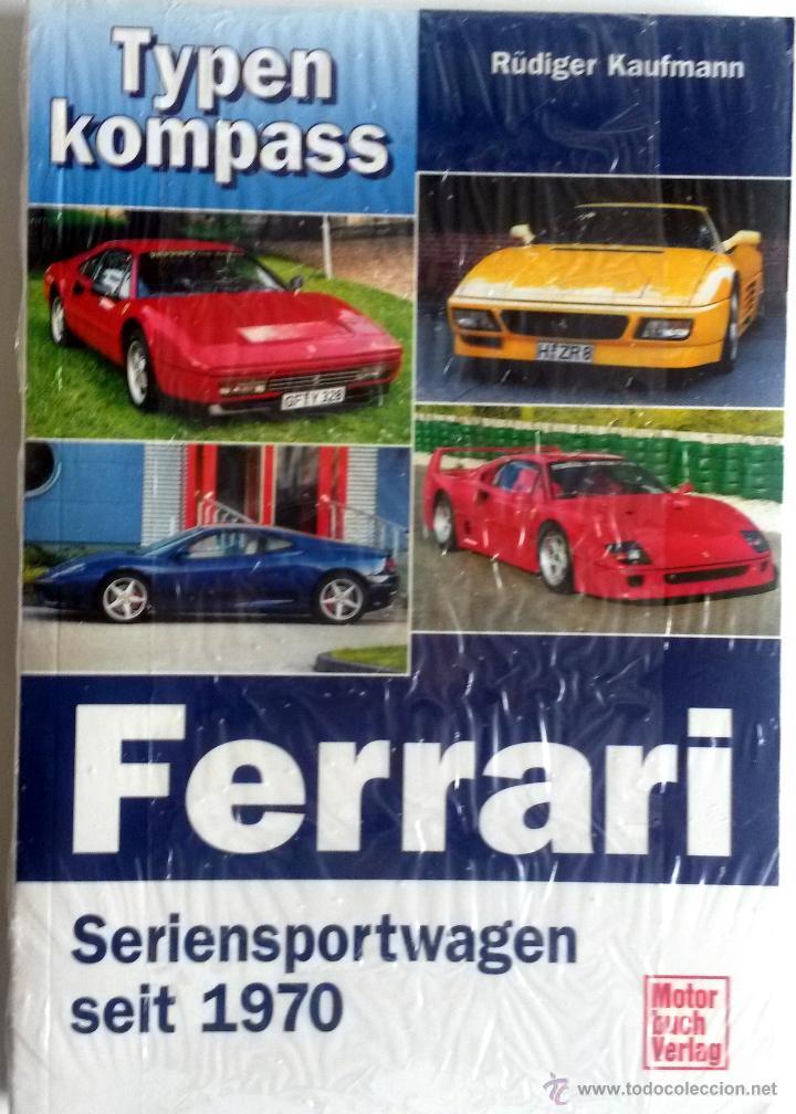 CATÁLOGO TYPENKOMPASS - FERRARI - TURISMOS DESDE 1970. (Coches y Motocicletas Antiguas y Clásicas - Catálogos, Publicidad y Libros de mecánica)