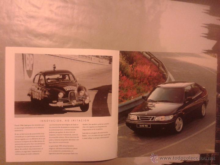 Coches y Motocicletas: CATALOGO SAAB 9000 - LA GAMA 1995 - AÑO 1995 - Foto 3 - 49420125
