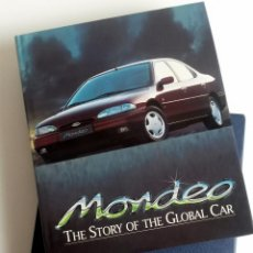 Coches y Motocicletas: LIBRO OFICIAL FORD MONDEO - THE STORY OF THE GLOBAL CAR.. Lote 54246887