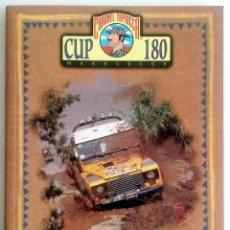 Coches y Motocicletas: LIBRO CORONEL TAPIOCCA CUP 180 MARRUECOS.. Lote 58319672