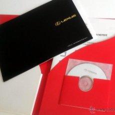 Coches y Motocicletas: DOSSIER DE PRENSA SALÓN DE TOKIO 2003 - TOYOTA & LEXUS + CD.. Lote 54343854