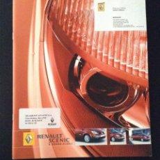 Coches y Motocicletas: FOLLETO CATALOGO PUBLICIDAD ORIGINAL RENAULT SCENIC GRAND SCENIC DE 2006. Lote 54345421