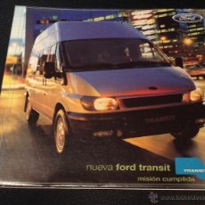 Coches y Motocicletas - Folleto catalogo publicidad original ford transit - 54460244