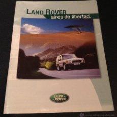 Coches y Motocicletas - Folleto catalogo publicidad original gama land rover defender-freelander-discovery-range rover - 54460277