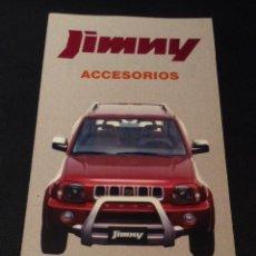 Coches y Motocicletas: FOLLETO CATALOGO PUBLICIDAD ORIGINAL SUZUKI JIMMY ACCESORIOS SANTANA MOTORS DE 2000. Lote 54460451